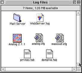 file list need to run Analog on your TeleFinder Web Server log