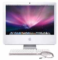 "20"" iMac Core 2 Duo refurbished on sale"