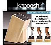 Magical Kapoosh Universal Knife Block
