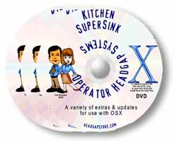 OSX SUPER Kitchen Sink DVD - Mac shareware and freeware collection features everything but the Kitchen Sink